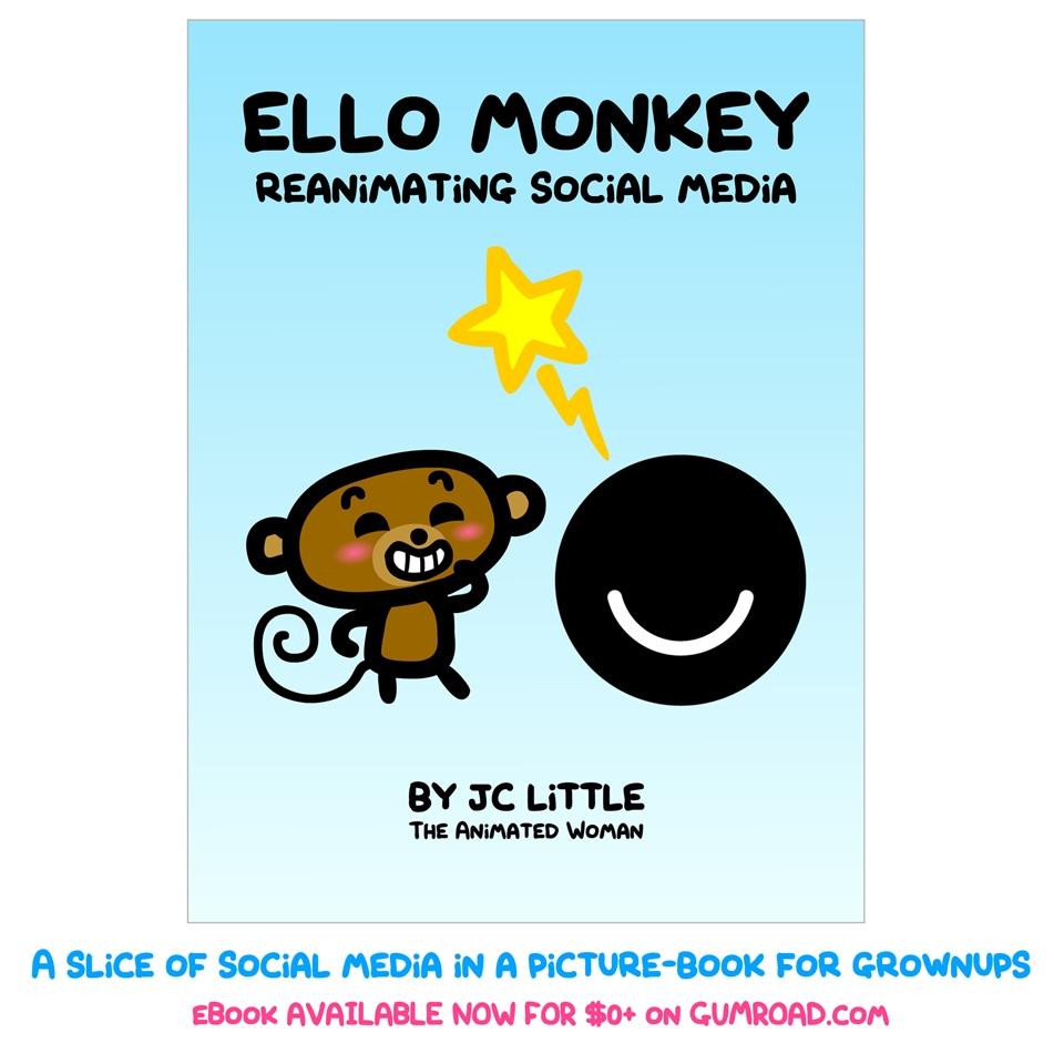 Télécharger «Ello Monkey Reanimating Social media»