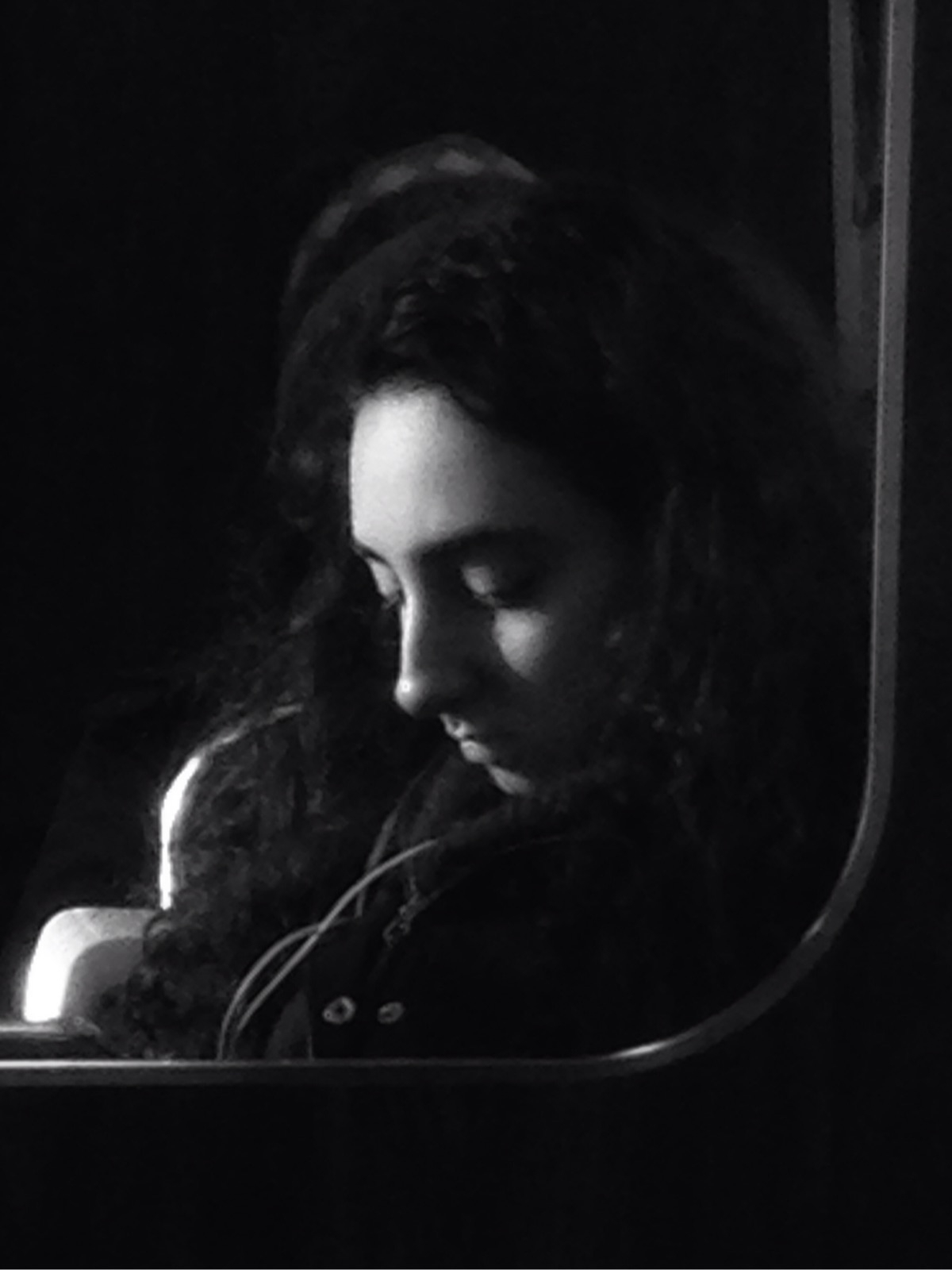 Madonna Subway strangers train - electrachrome | ello