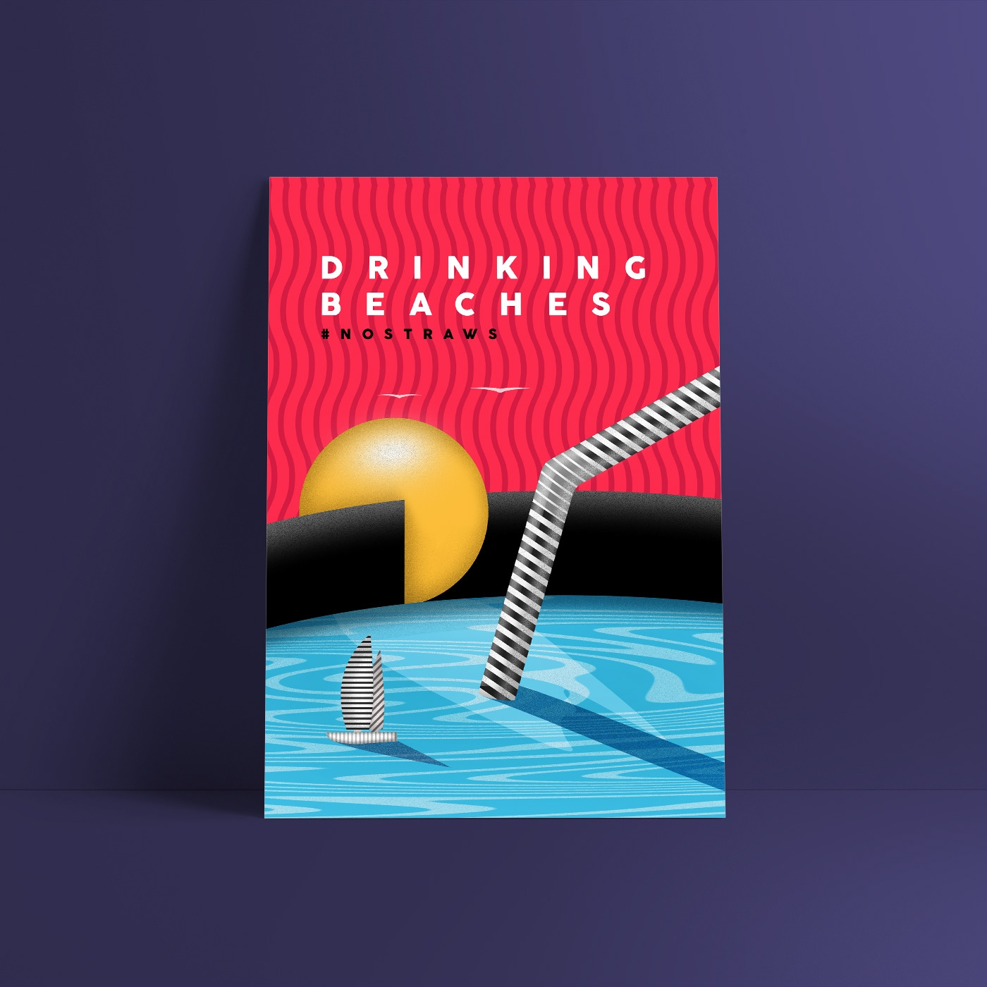 Drinking Beaches: plastic sea b - wallendiaz | ello