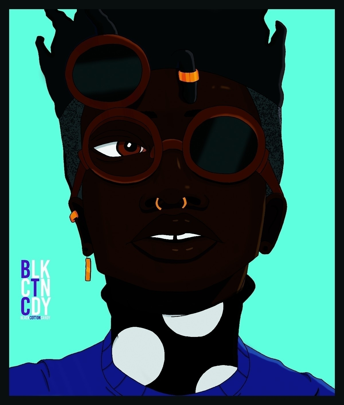 COOL BLACK BOYS 001 - ART, DIGITALART - blackcottoncandy | ello