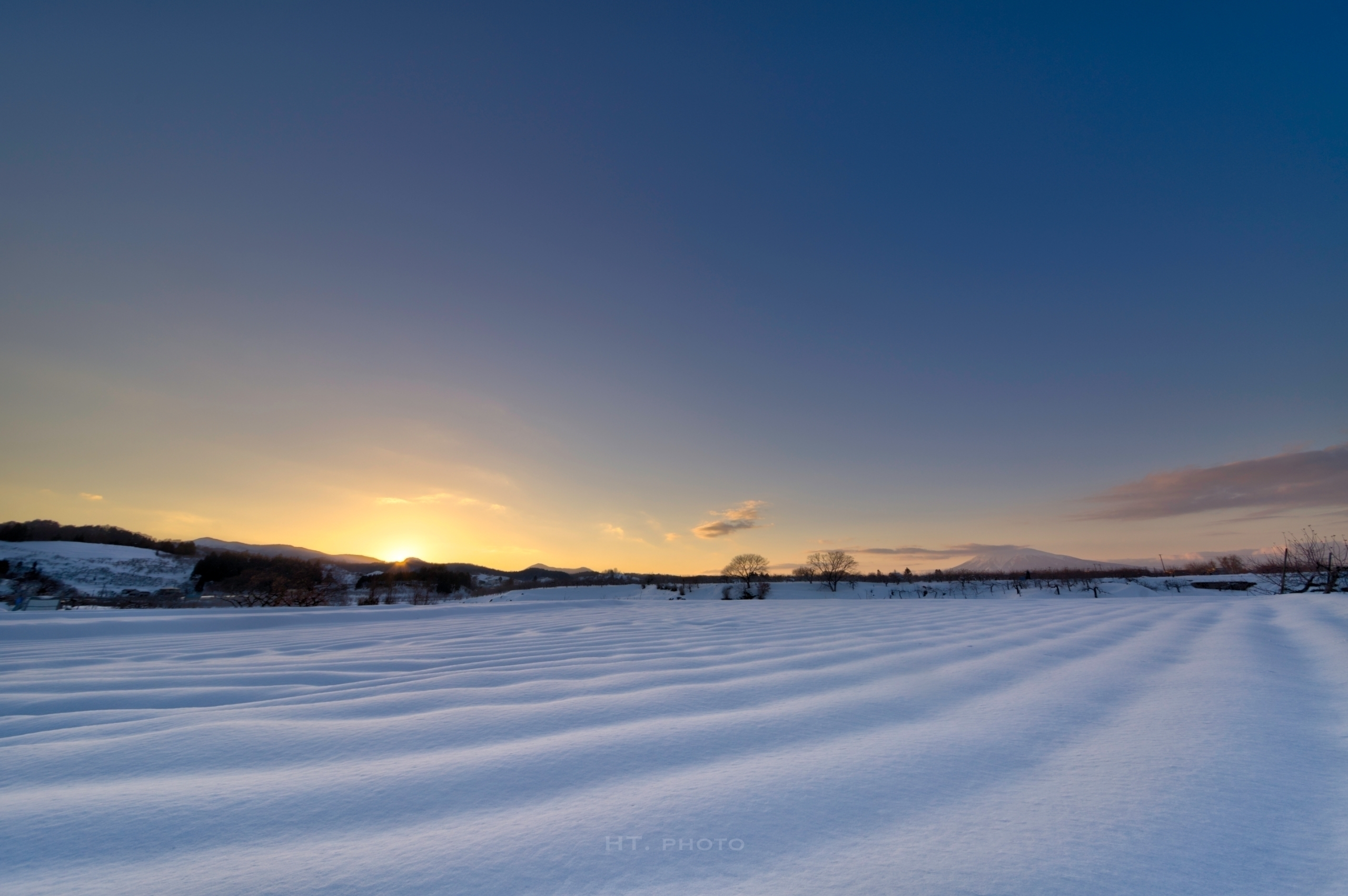 snow, blue, sky, clouds, sunset - ht-photo | ello