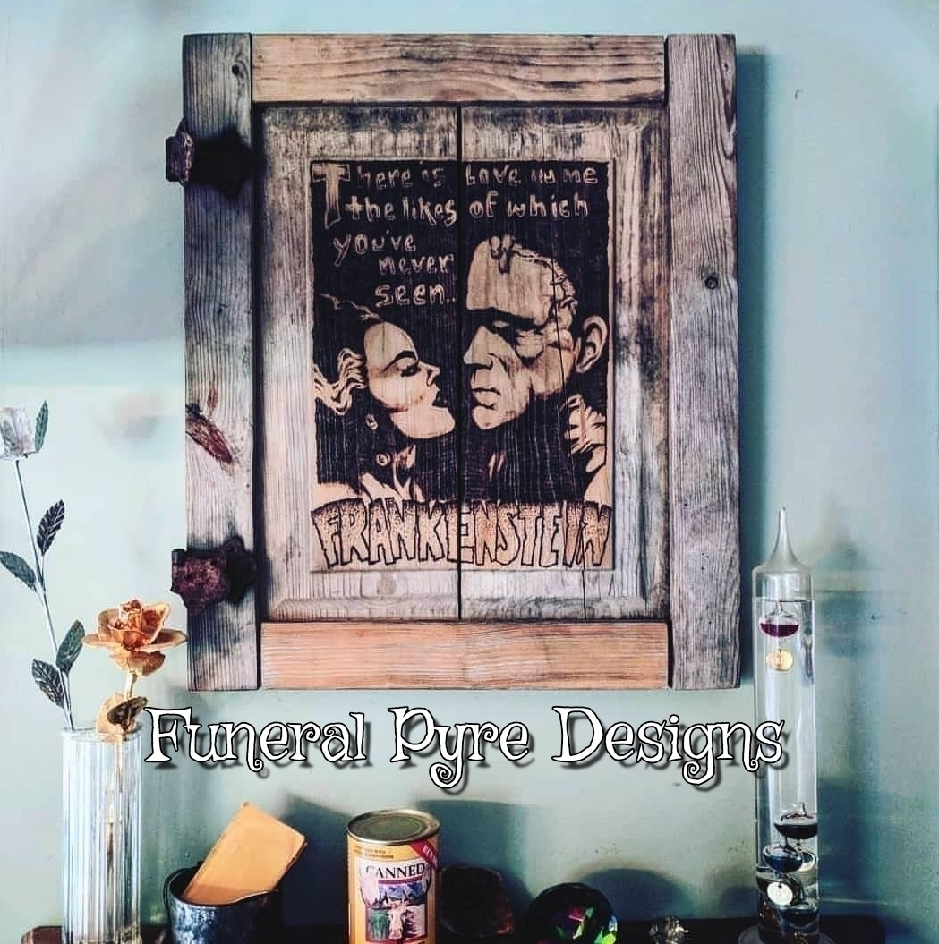 time Frankenstein Bride piece s - funeralpyredesigns | ello