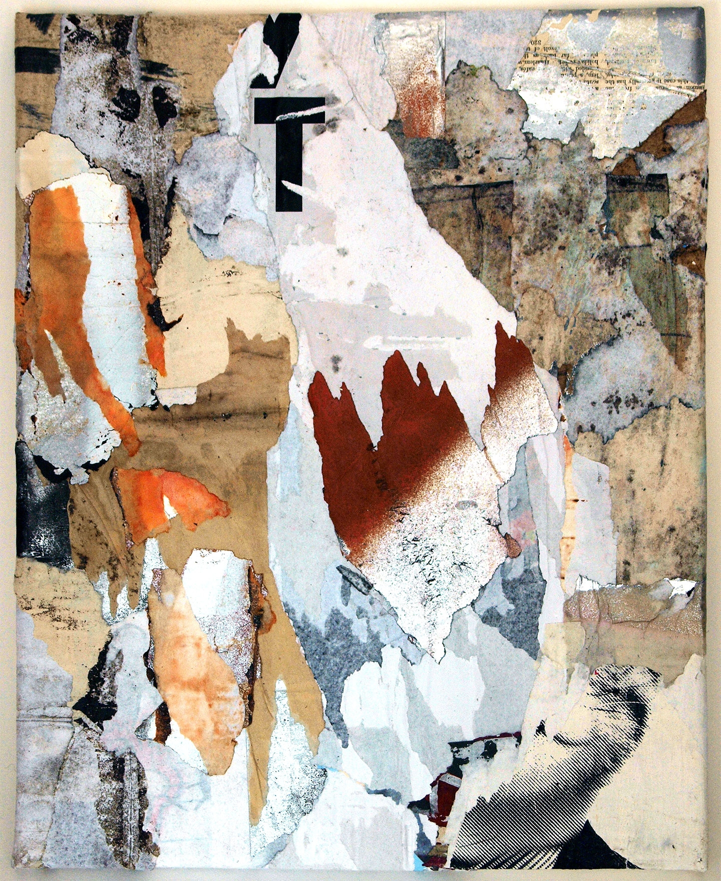 VT Collage canvas - collage, intertextuality - fullom | ello
