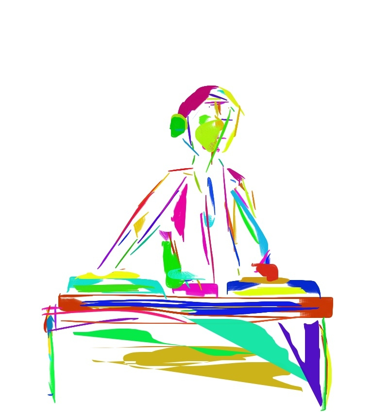 Dj. KIds Doodle - digitalart - james | ello