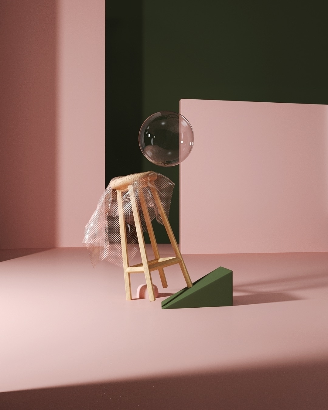 Fall  - Cinema4D, 3D, Illustration - movki | ello