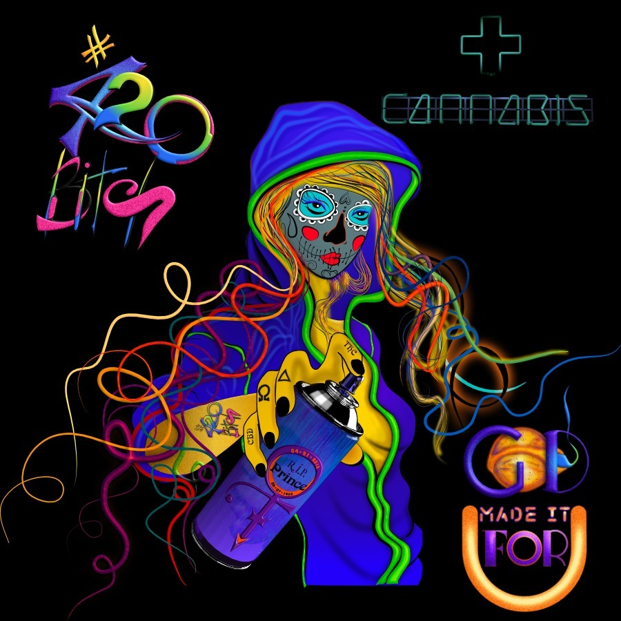 God - DigMag, 420, 420Bitch, Cannabis - drzigzag | ello