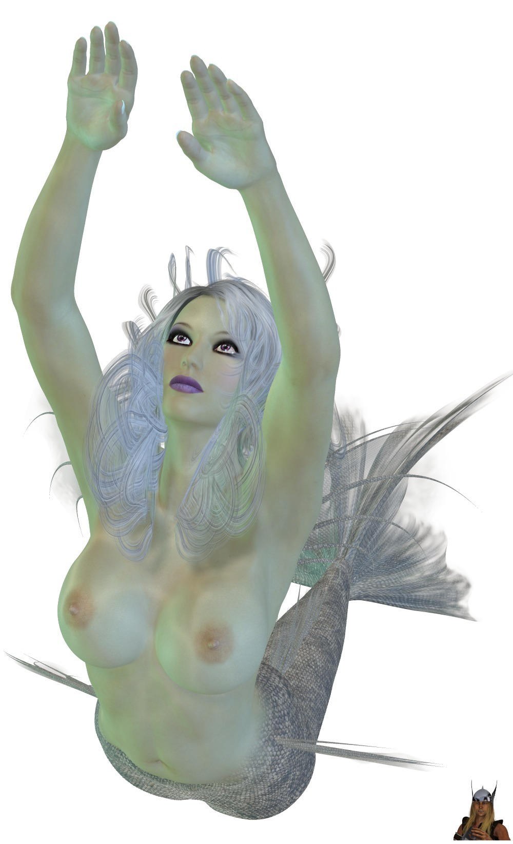 Mermaid 02 01 (01-02/02 - 3d, 3d_art - thor3d | ello