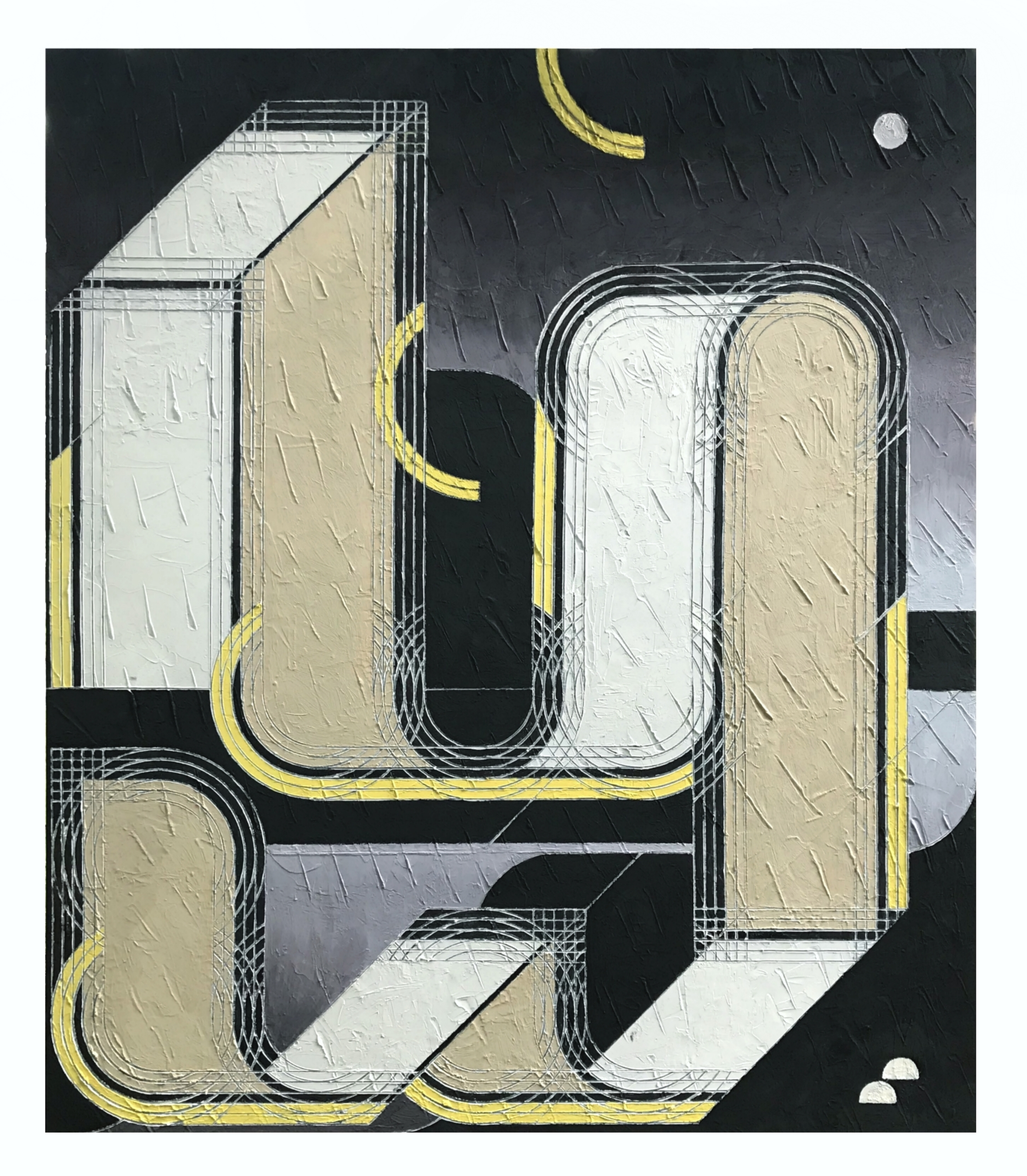 JOSH CROOKED RIVER Oil panel 44 - joshrm | ello