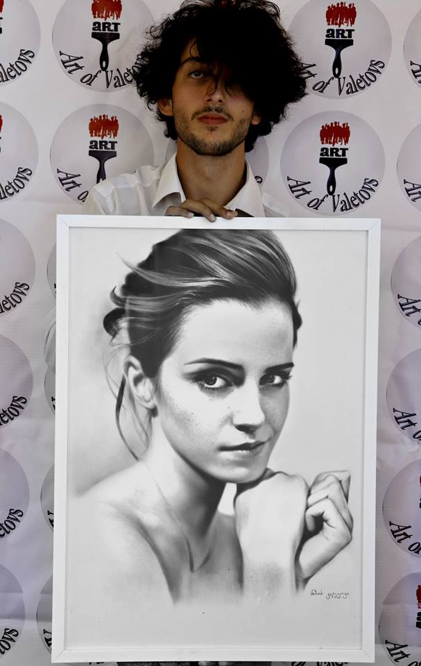 Portrait: Emma Watson ・Портрет - art_of_valetovs | ello