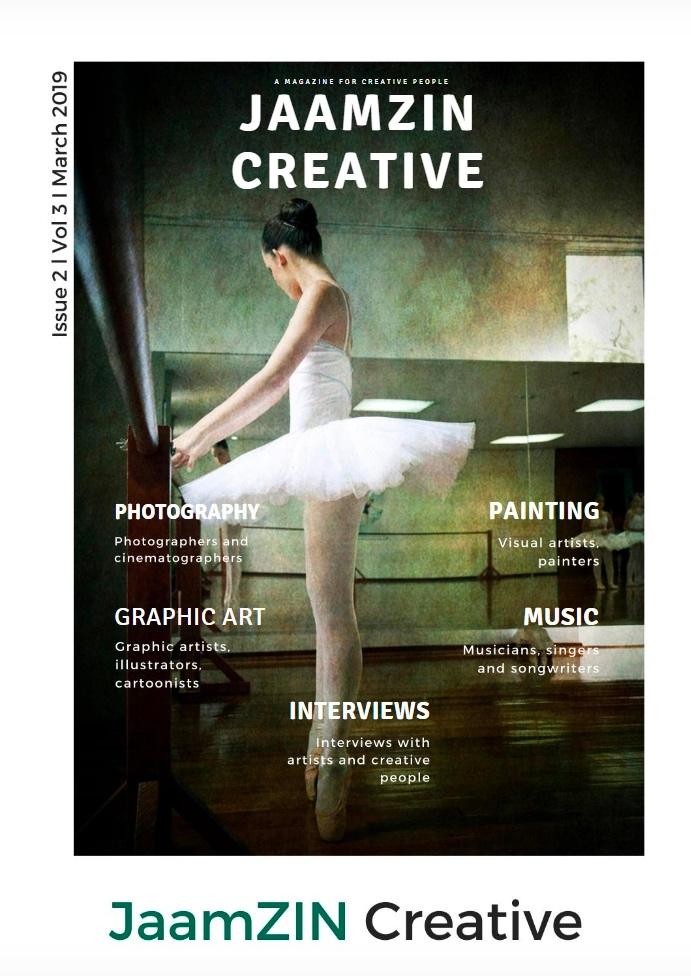 JaamZIN Creative magazine March - jaamzin | ello