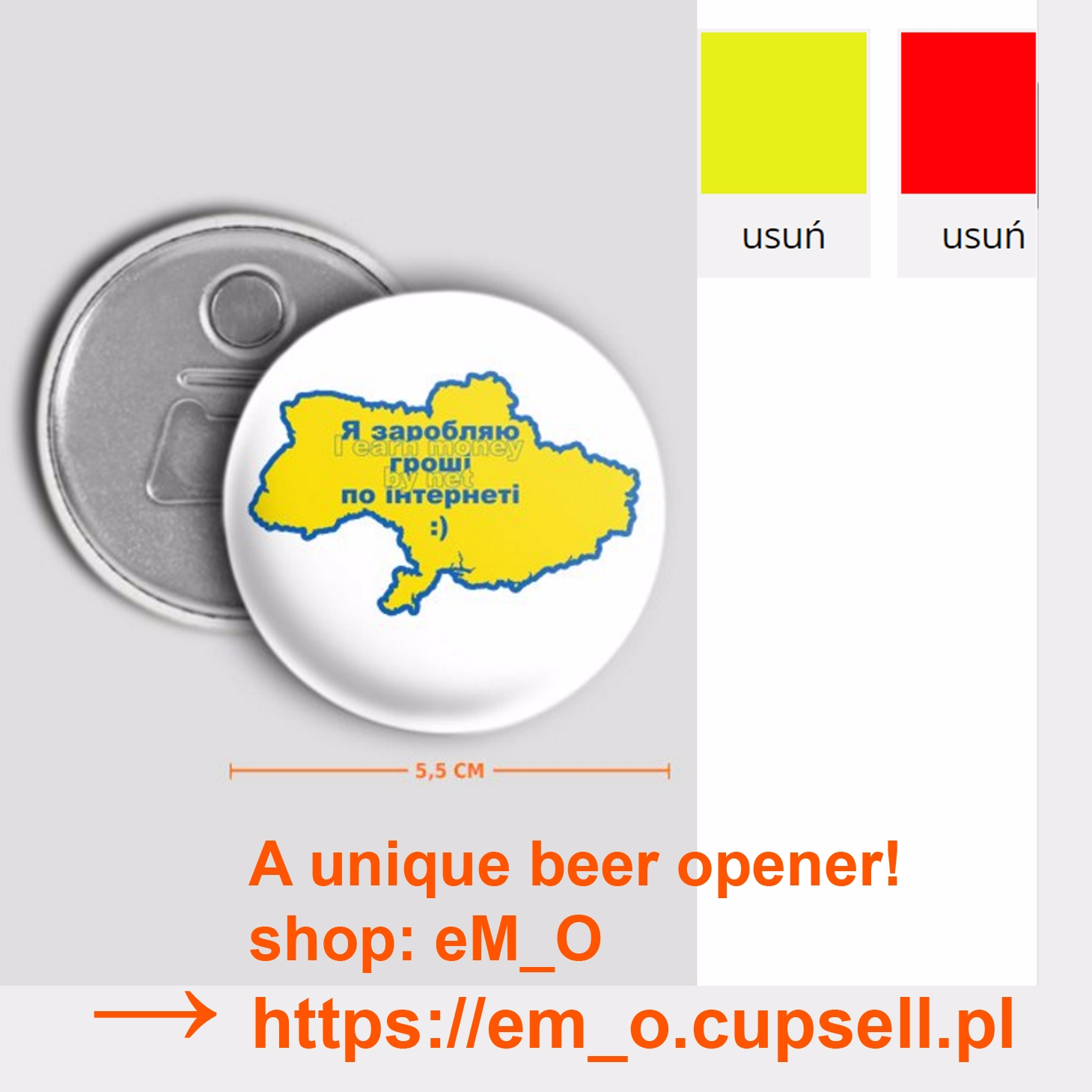 unique beer opener! buy CupSell - grabatdot | ello
