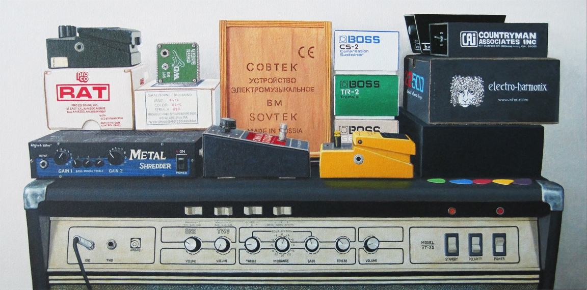 Original Box - oil canvas, 18 3 - bruce_mitchell | ello