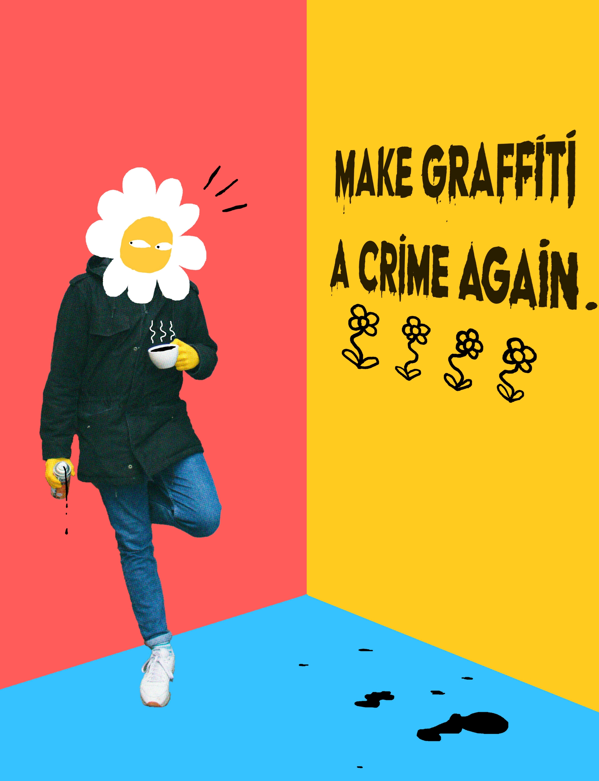 Graffiti Crime 2019 / Digital d - labrosse | ello