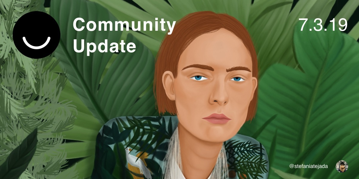 Community Update 7/3/19 Happy W - elloblog | ello