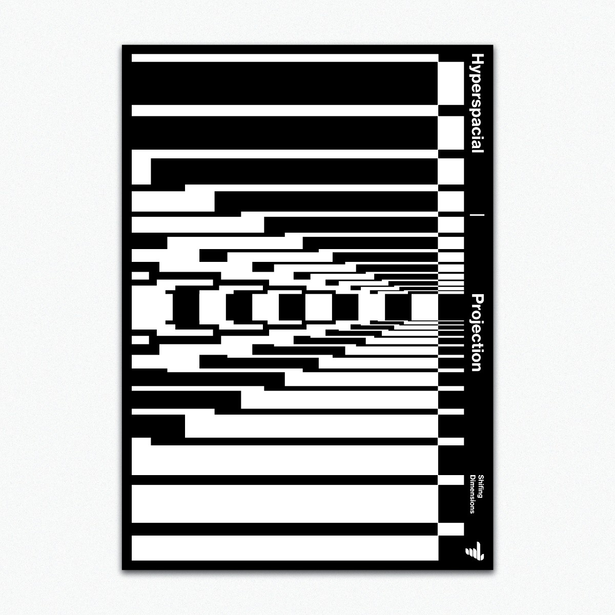 Hyperspatial / Projection  - graphicposter - madleif | ello
